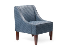 curtis custom upholstery visitor chair hotel student accommodation